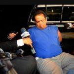 Ayer los periodistas fuero amenazados desde un vehículo. FOTO EDH
