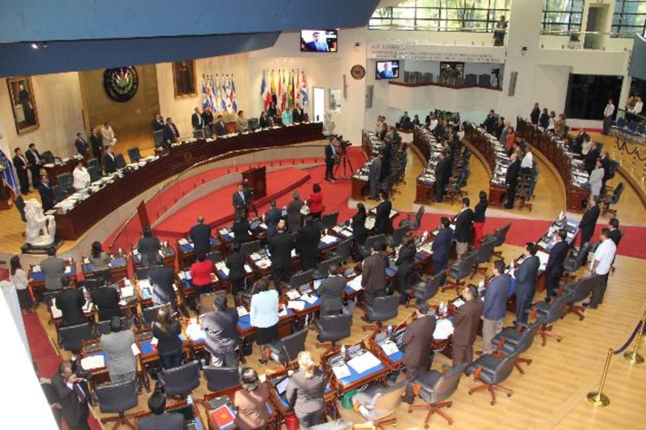 Los diputados avalaron la normativa y ahora el Ejecutivo debe proveer los fondos para ejecutarla. foto edh / Omar carbonero