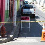 Calle de Ilobasco, lugar del tiroteo. foto edh / mario amaya