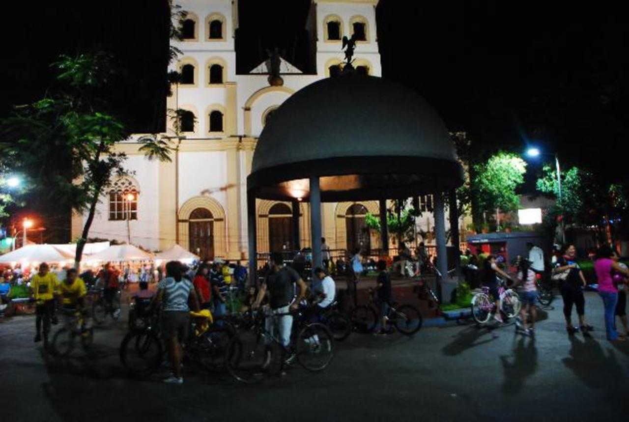 Unen salud y esparcimiento familiar en San Miguel
