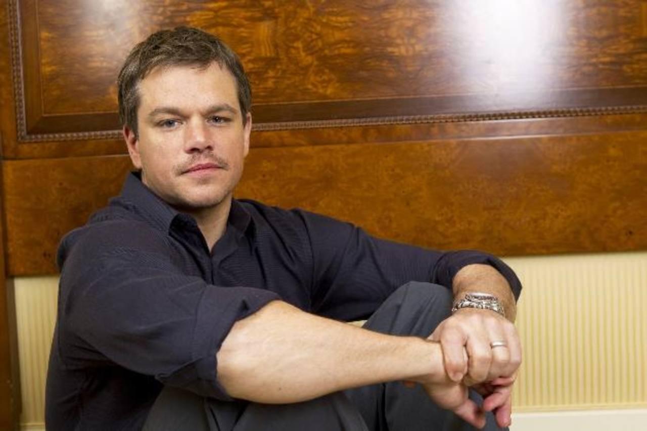 Matt Damon asegura que Affleck se merece todo lo que está pasando. Foto EDH/ archivo