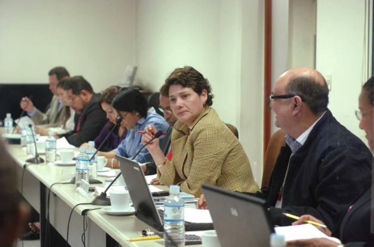 La comisión de reformas electorales dictaminó la ley del voto exterior.