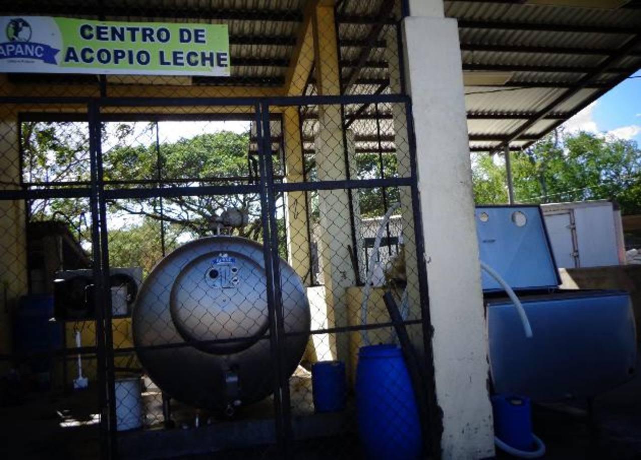 En su planta, reciben cerca de 10 mil botellas de leche diarias, según detallan los voceros de la Asociación de Productores Agropecuarios de Nueva Concepción. Foto EDH / cortesía