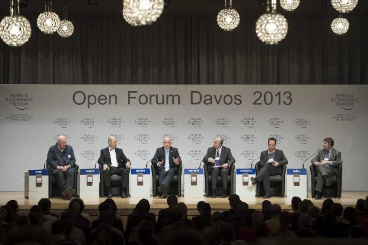 En Davos se debate durante cinco días sobre la economía del mundo. Foto EDH/ efe