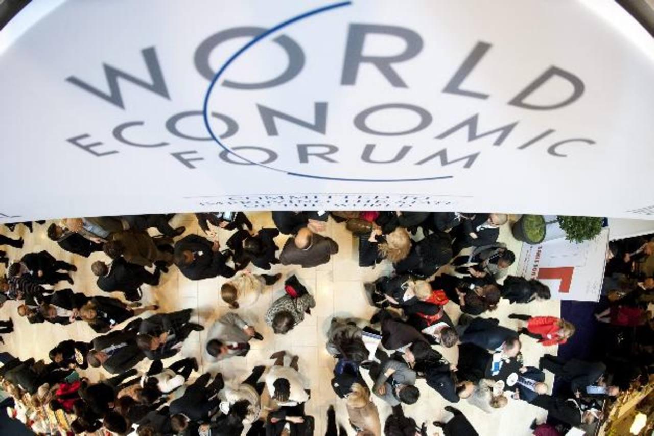 Davos, en Suiza, se vuelve centro de la economía mundial esta semana. Foto EDH / Ap