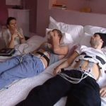 Hombres prueban dolores de parto, soportan dos horas