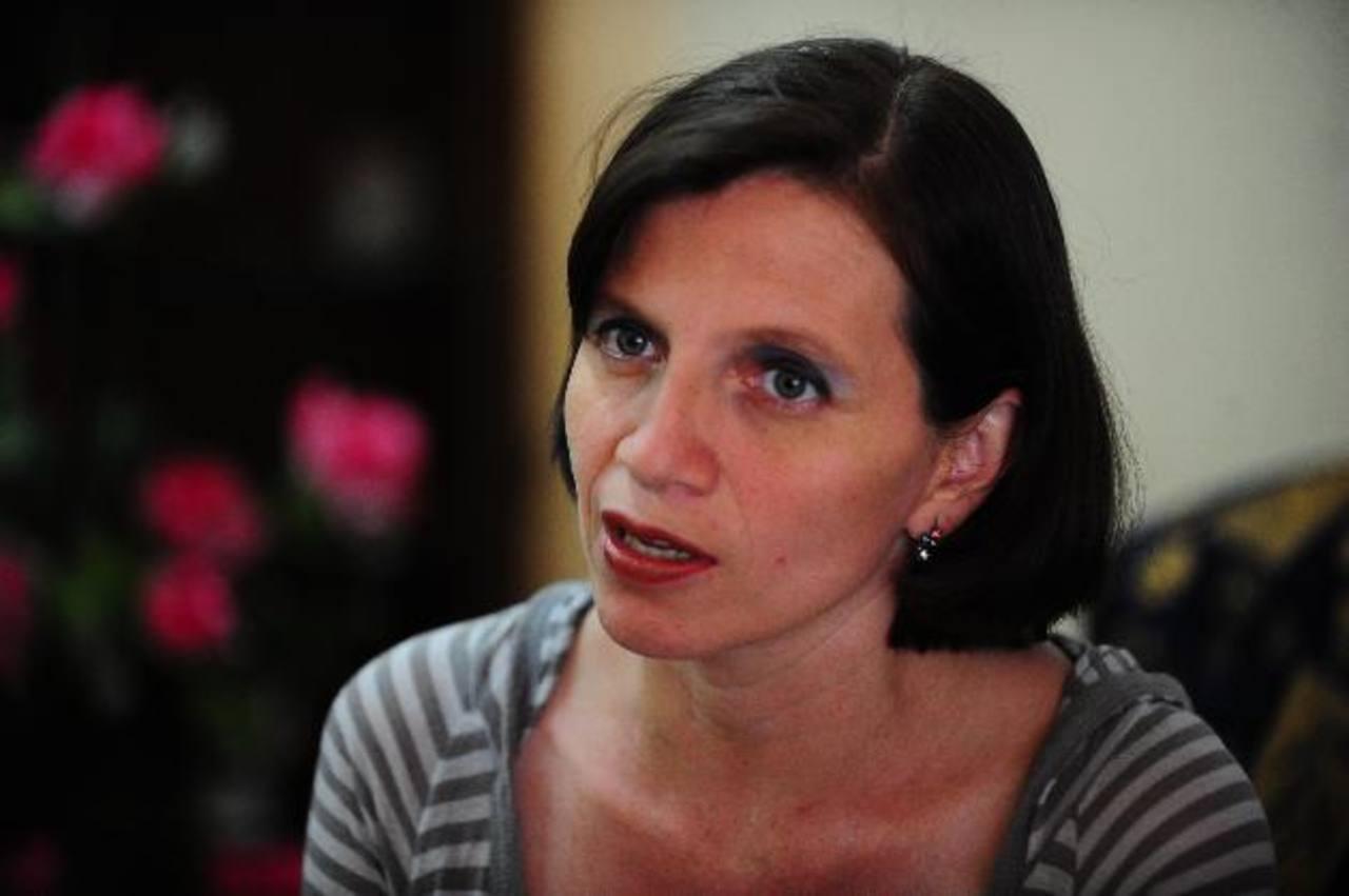 Idalia Herrera fue diagnosticada con sida en 2000, en una unidad de salud de Apopa, en San Salvador. Foto EDH / archivo