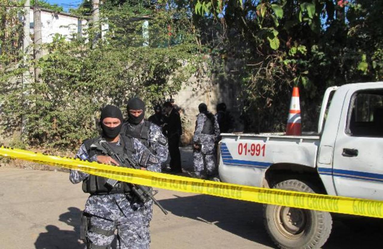 El martes anterior, dos personas murieron y dos resultaron heridas en un ataque armado en Guazapa. Foto EDH / Archivo