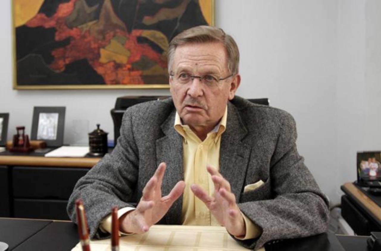 El presidente de la SIP, Jaime Mantilla, director del diario ecuatoriano Hoy. foto edh / reuters