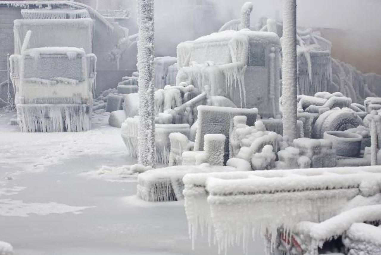 Ola de frío congela a Estados Unidos