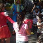 El tercer aniversario de la muerte de Chirajito fue conmemorado con un show en el Parque Infantil. Foto vía Twitter Moi sés Rivera