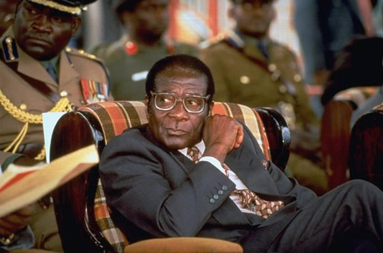 Robert Mugabe lleva en el poder desde que el país se independizó de Reino Unido en 1981. Foto EDH