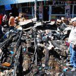 Una mala instalación eléctrica fue lo que provocó un cortocircuito que se convirtió en un incendio. Foto EDH / Francisco Torres.