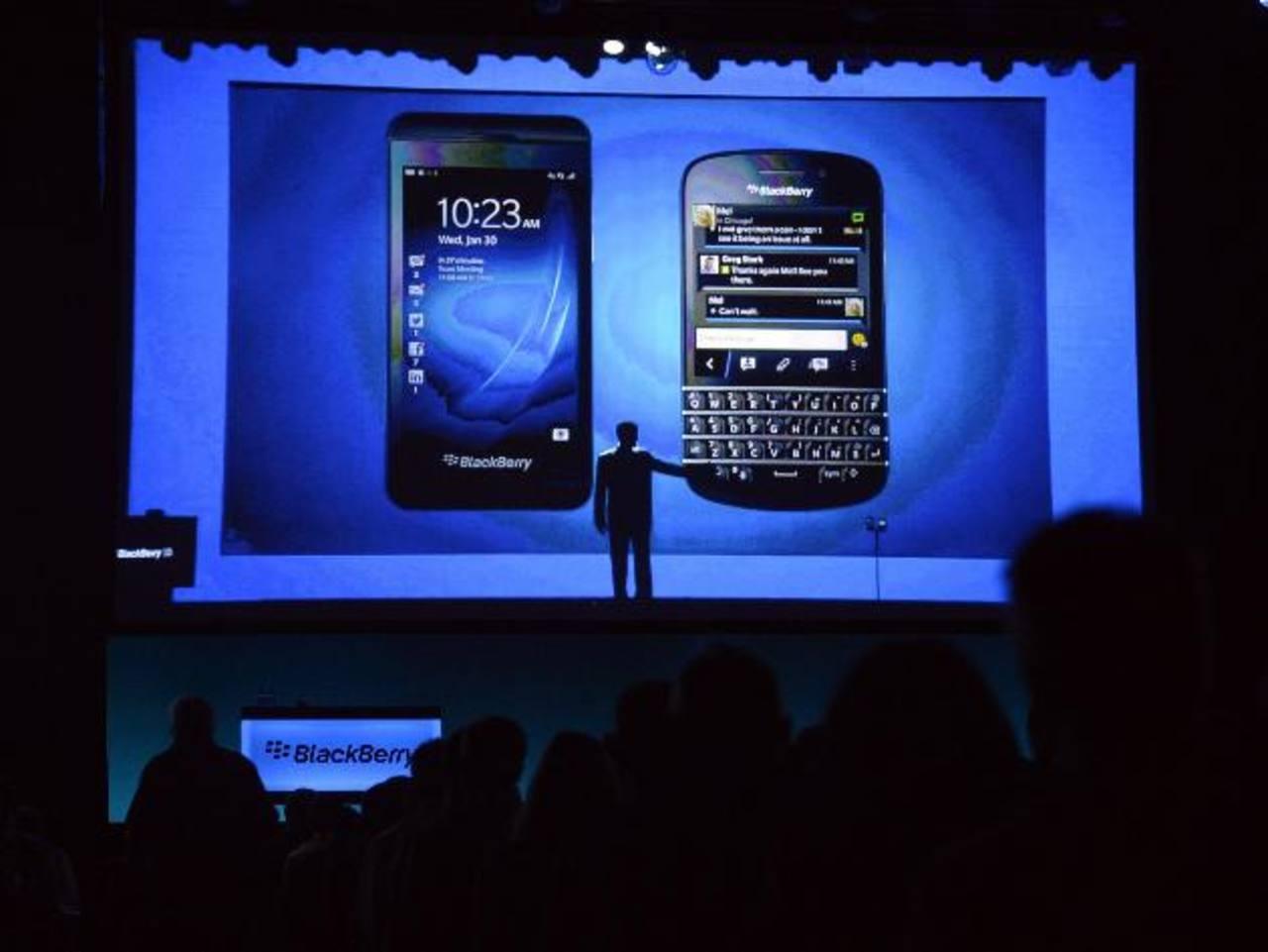 """BlackBerry desvela dos nuevos """"smartphones"""""""