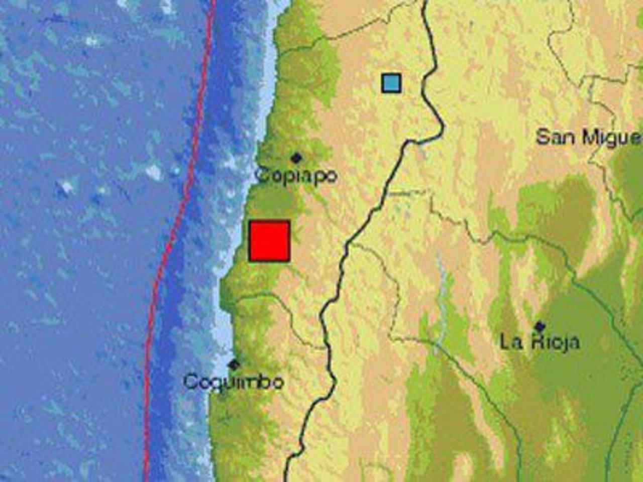 Sismo de magnitud 6.7 estremece Chile