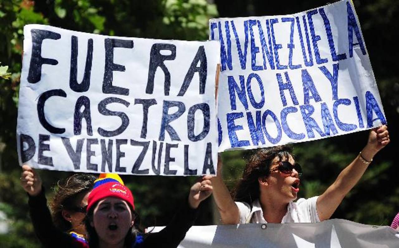 Opositores no quieren a a Raúl Castro en Chile. Foto EDH / efe