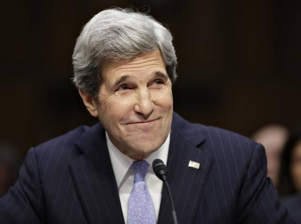 Senado de EE.UU. aprueba nombramiento de John Kerry