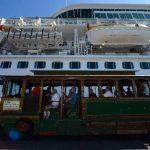 De 1,300 turistas que arribaron, 600 visitaron las rutas turísticas del país. foto edh/ m. amaya