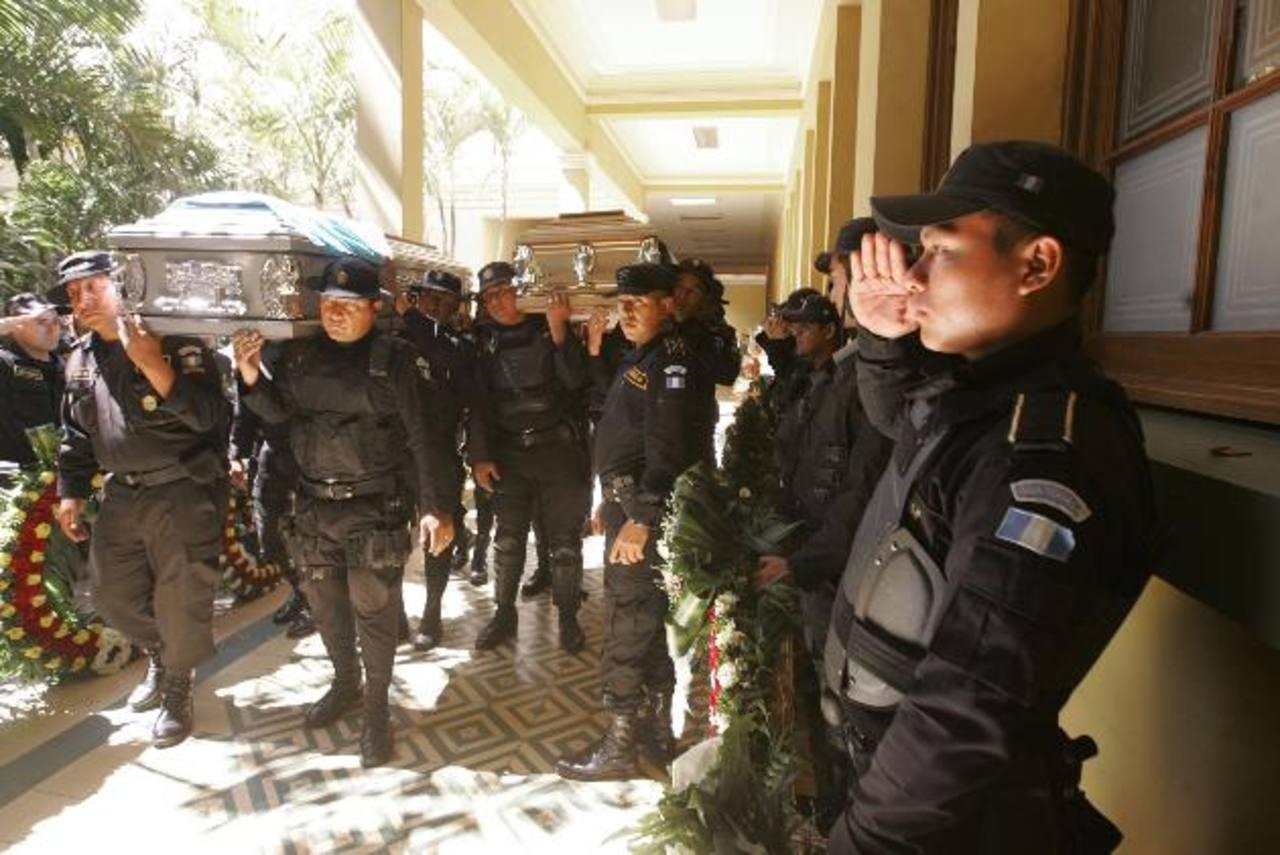 El ataque contra los dos policías fue perpetrado en la calzada Rosevelt. foto edh / cortesía al día - Herlindo zet (guatemala)