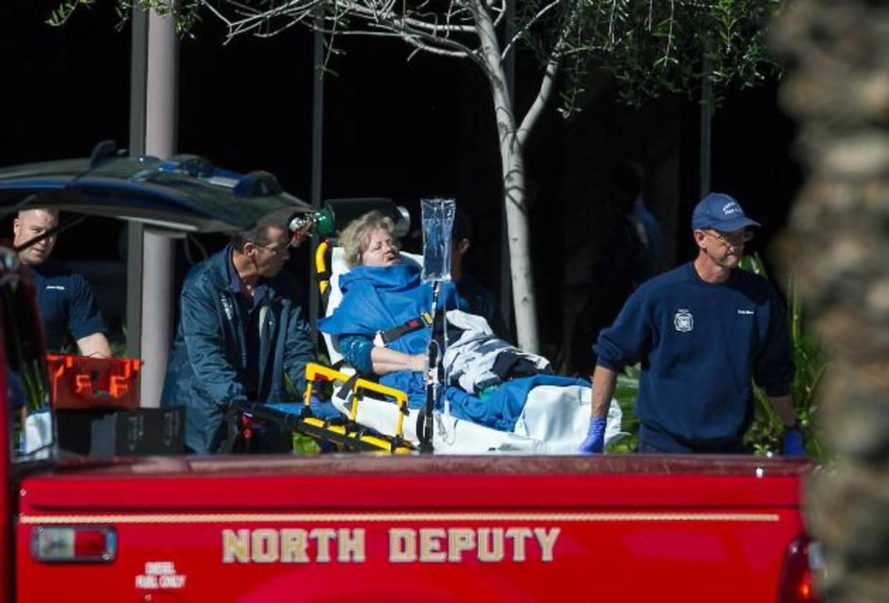 Uno de los heridos en un tiroteo en un complejo de oficinas en la ciudad de Phoenix.