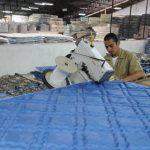 La mitad de la producción de Industrias Capri se destina a la exportación a Guatemala, Honduras, Nicaragua y Costa Rica. Foto edh / lissette lemusArturo Zablah es presidente de Industrias Capri. También ha incursionado en la política. Foto edh / marl