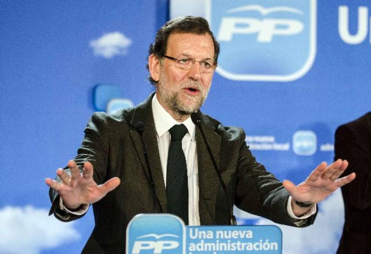 Mariano Rajoy, presidente del Gobierno español. foto edh