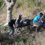El cuerpo de Cruz Rauda, de 76 años, fue localizado en el caserío El Chilar, en San Juan Opico. Foto EDH / Claudia castillo.