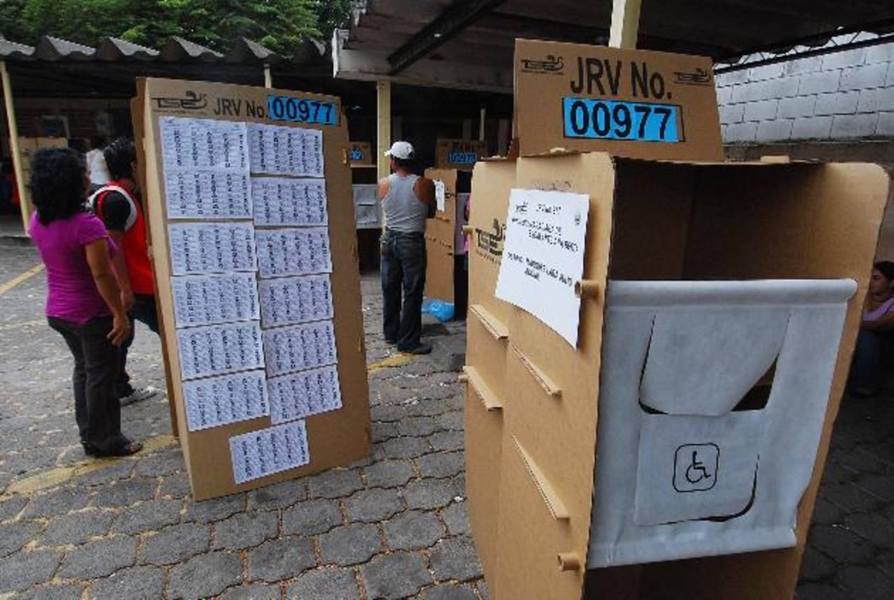 En comicios 2012 menos salvadoreños acudieron a las urnas para votar