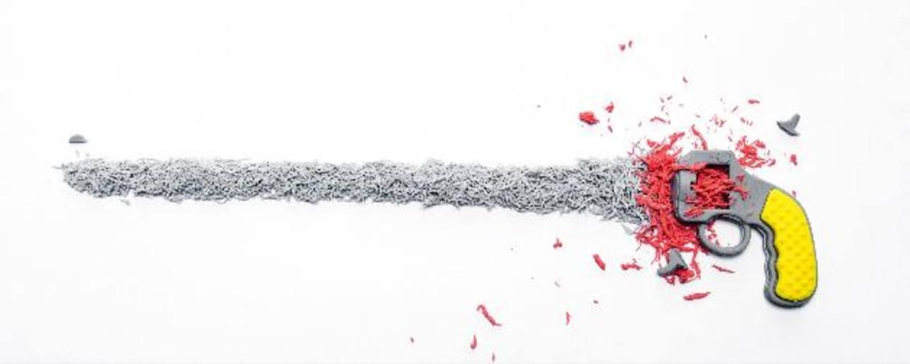 """Imagen de la obra de Mauricio Esquivel. Esta pieza pertenece a su proyecto titulado """"Eraser Home"""", ahora también es parte de este nueva apuesta. Foto cortesía/Mauricio Esquivel"""