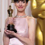"""Anne Hathaway: """"Tuve este sueño (del Oscar) y se cumplió. Es posible."""""""