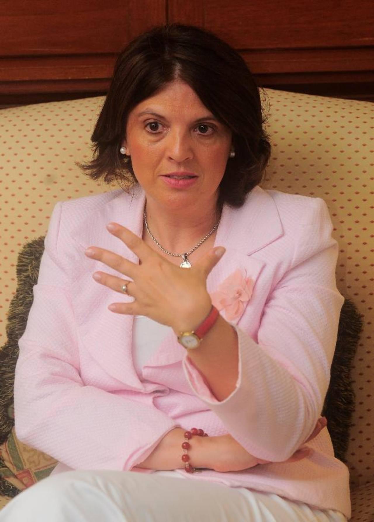 Patricia Debeljuh, conferencista y asesora experta en RSE y Ética Empresarial. foto edh / omar carbonero