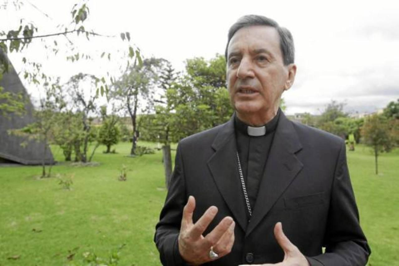 El cardenal Rubén Salazar, presidente de la Conferencia Episcopal de Colombia.