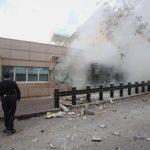 El atentando suicida cometido por un ultraizquierdista causó dos muertos, un guardia de seguridad y el propio terrorista.