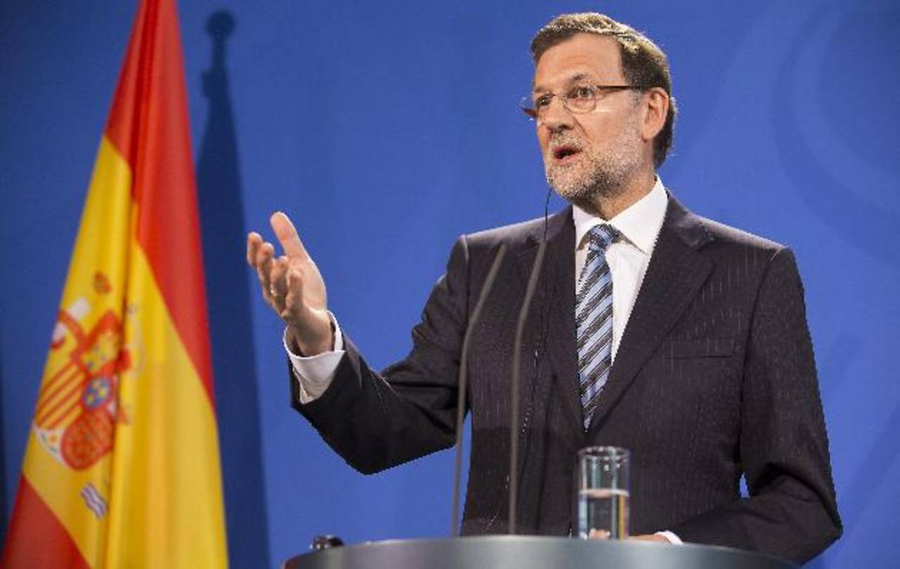 El presidente español, Mariano Rajoy está en el centro de las críticas. Foto edh/efe