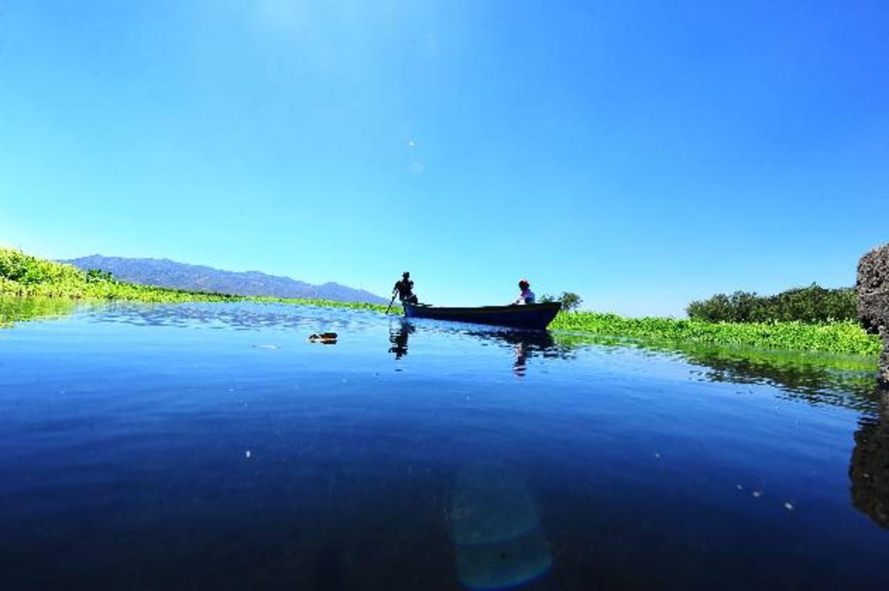 Este paraje permite a los turistas ser testigos de la vida que se desarrolla en torno al espejo de agua.