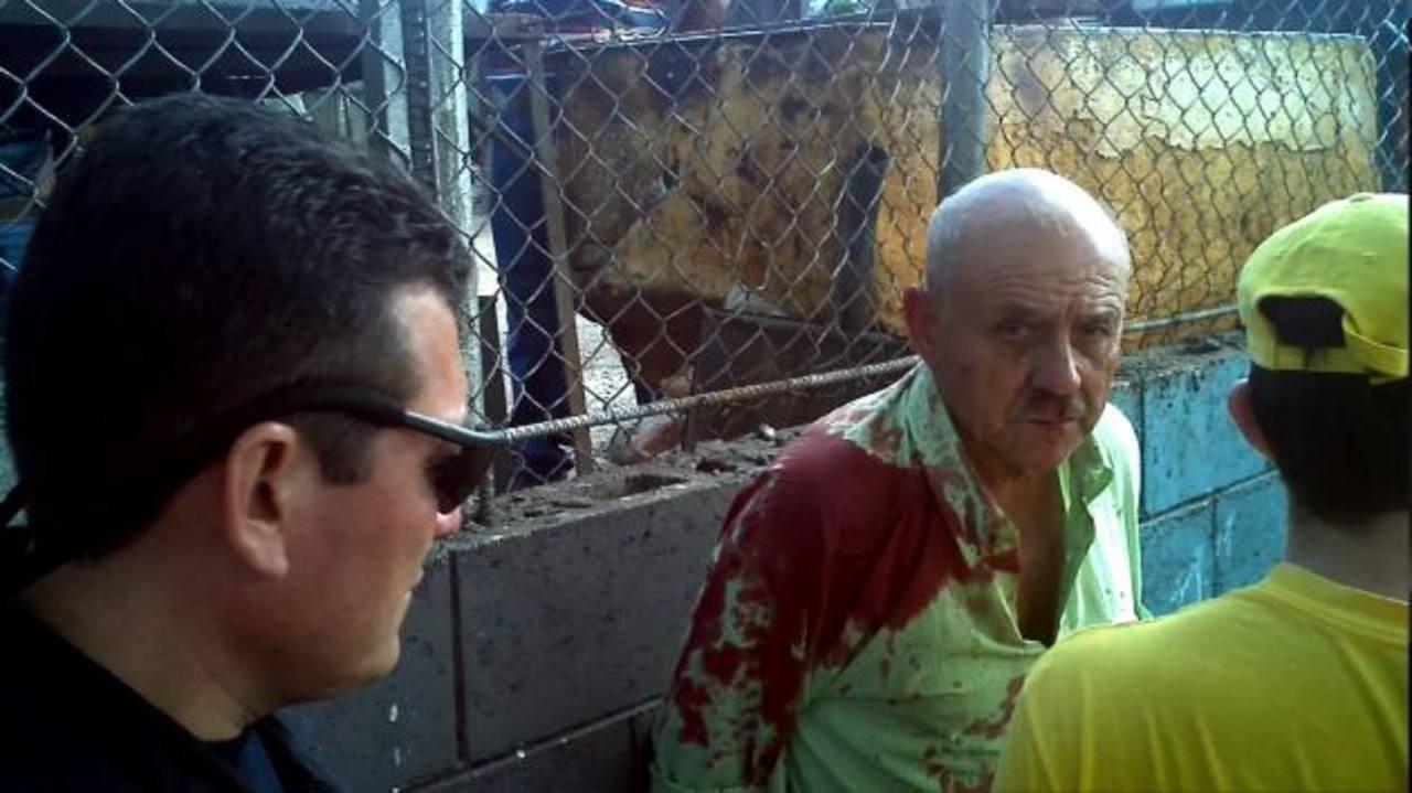 Eugenio Rodríguez, de 72 años, fue detenido por la Policía. Foto EDH / Óscar Iraheta.