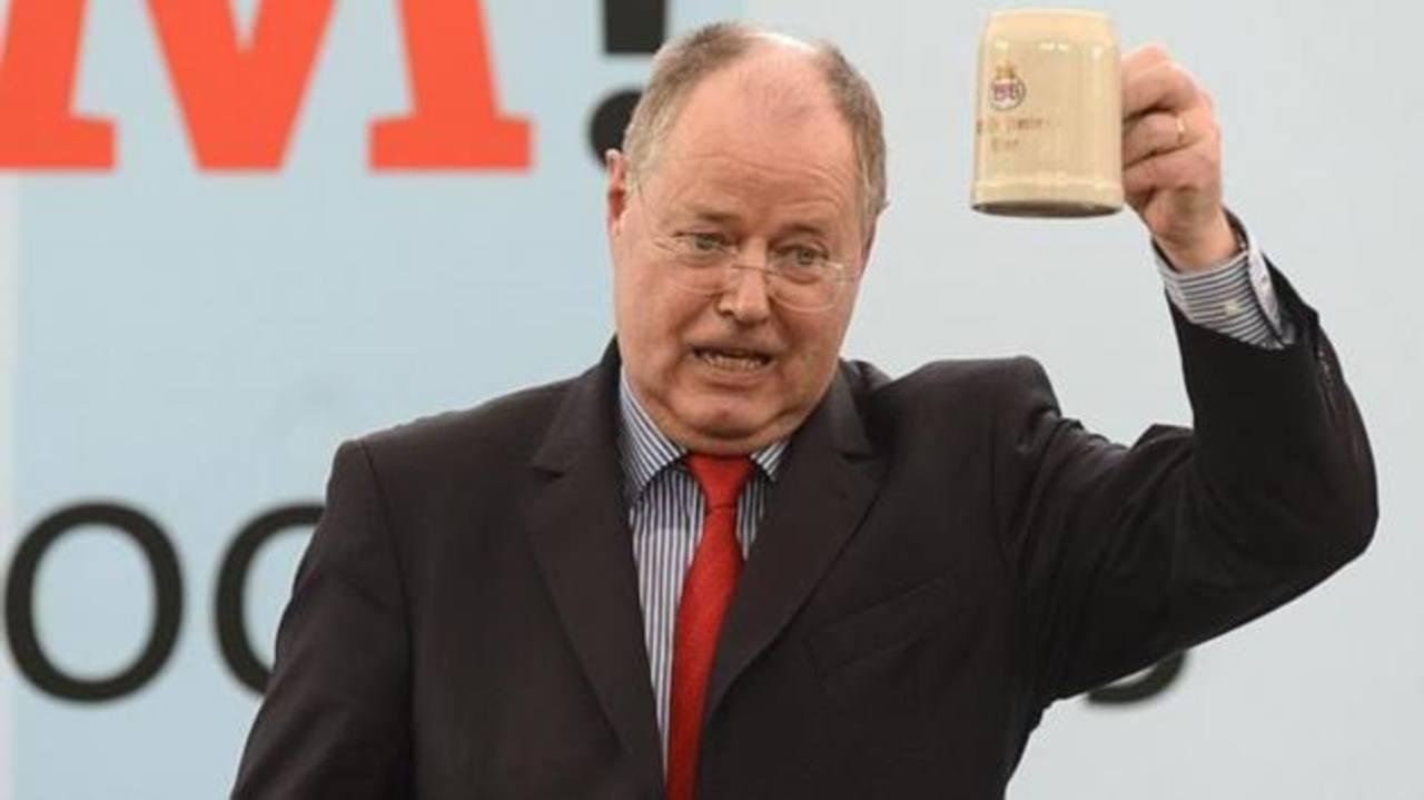 El candidato socialdemócrata a canciller, Peer Steinbruck, el pasado 13 de febrero en Vilshofen.