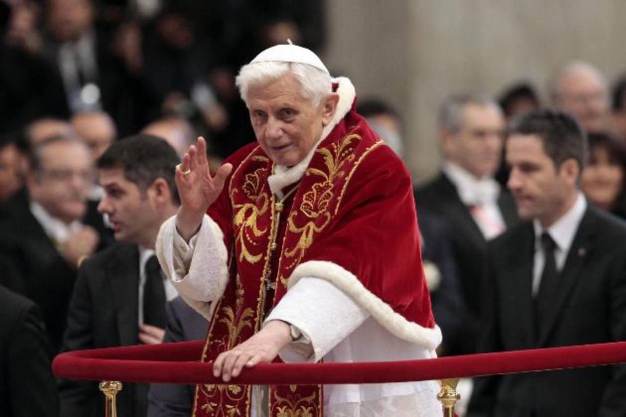 El papa Benedicto XVI distinguió el compromiso en el ámbito internacional de la asistencia de enfermos. Fotos EDH / Archivo