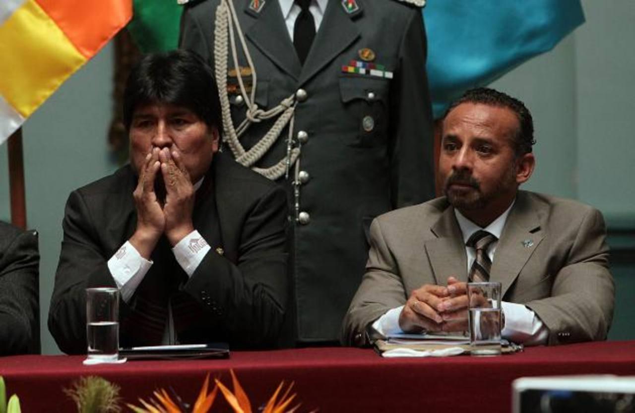 """El gobernante Evo Morales dijo que su homólogo venezolano está """"reposando""""."""