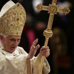 Benedicto XVI concluirá su cargo el 28 de febrero. Foto AP- Archivo