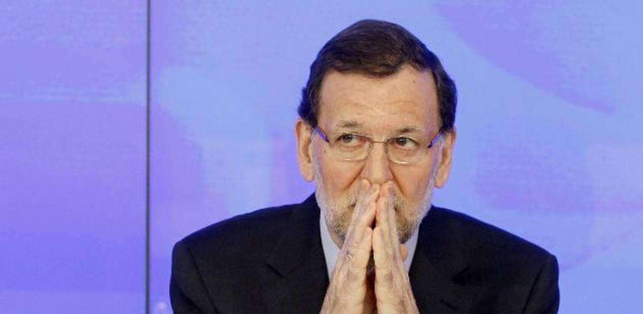 Mariano Rajoy niega que se haya dado cobros de dinero en su partido. foto edh /