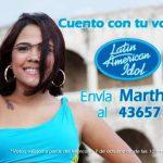 """La dominicana Martha Heredia fue la ganadora en 2009 del """"reality show"""" Latin American Idol. FOTO EDH"""