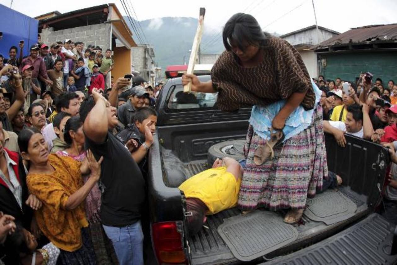 En Guatemala son comunes los linchamientos.