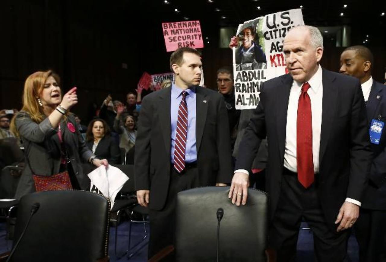 John Brennan, nominado para dirigir la CIA, es acorralado por protestas. foto edh / reuters