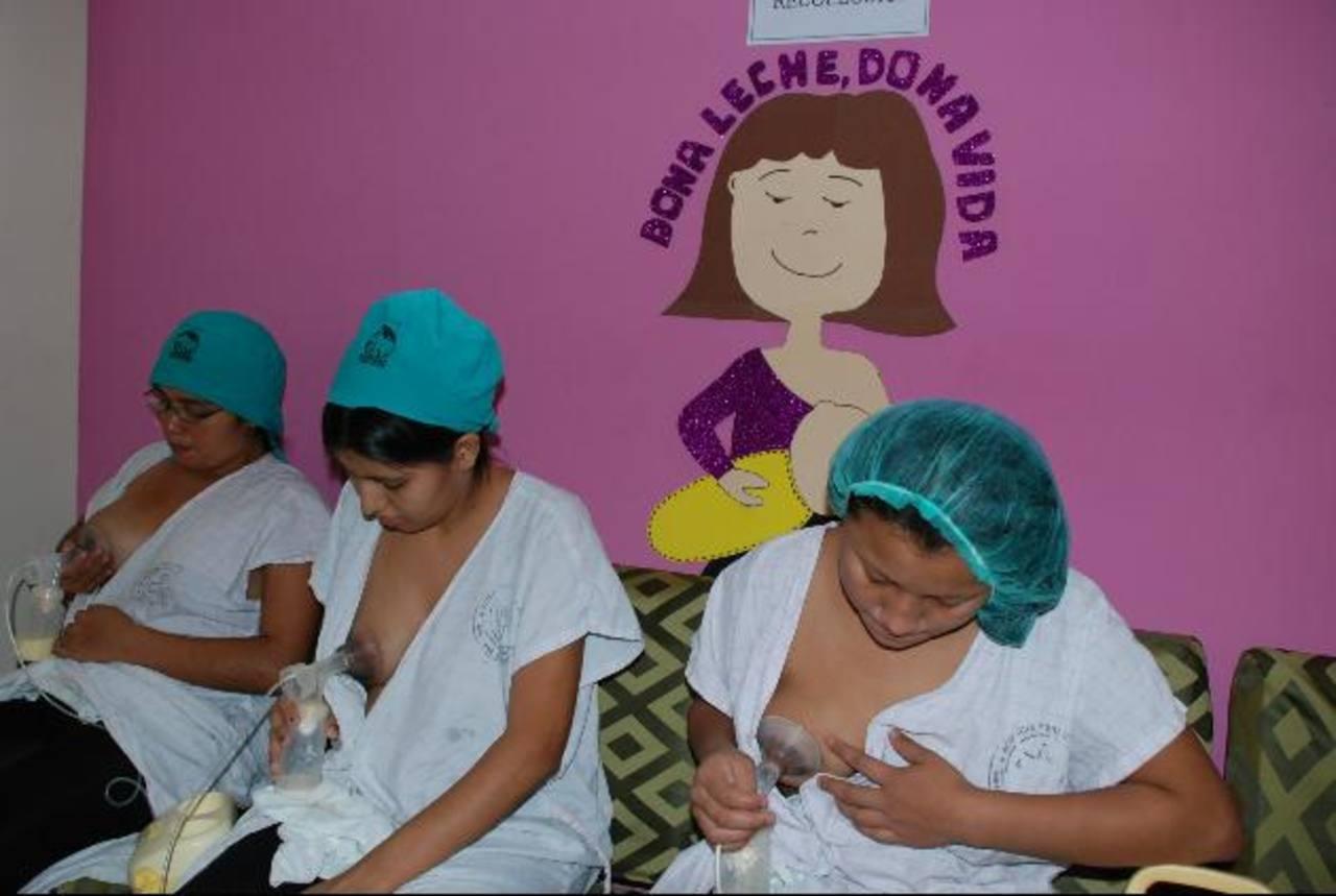 El Banco de Leche Humana está abierto para las madres lactantes de lunes a viernes de 7 de la mañana a 3:30 de la tarde. Foto edh / Cristian Díaz