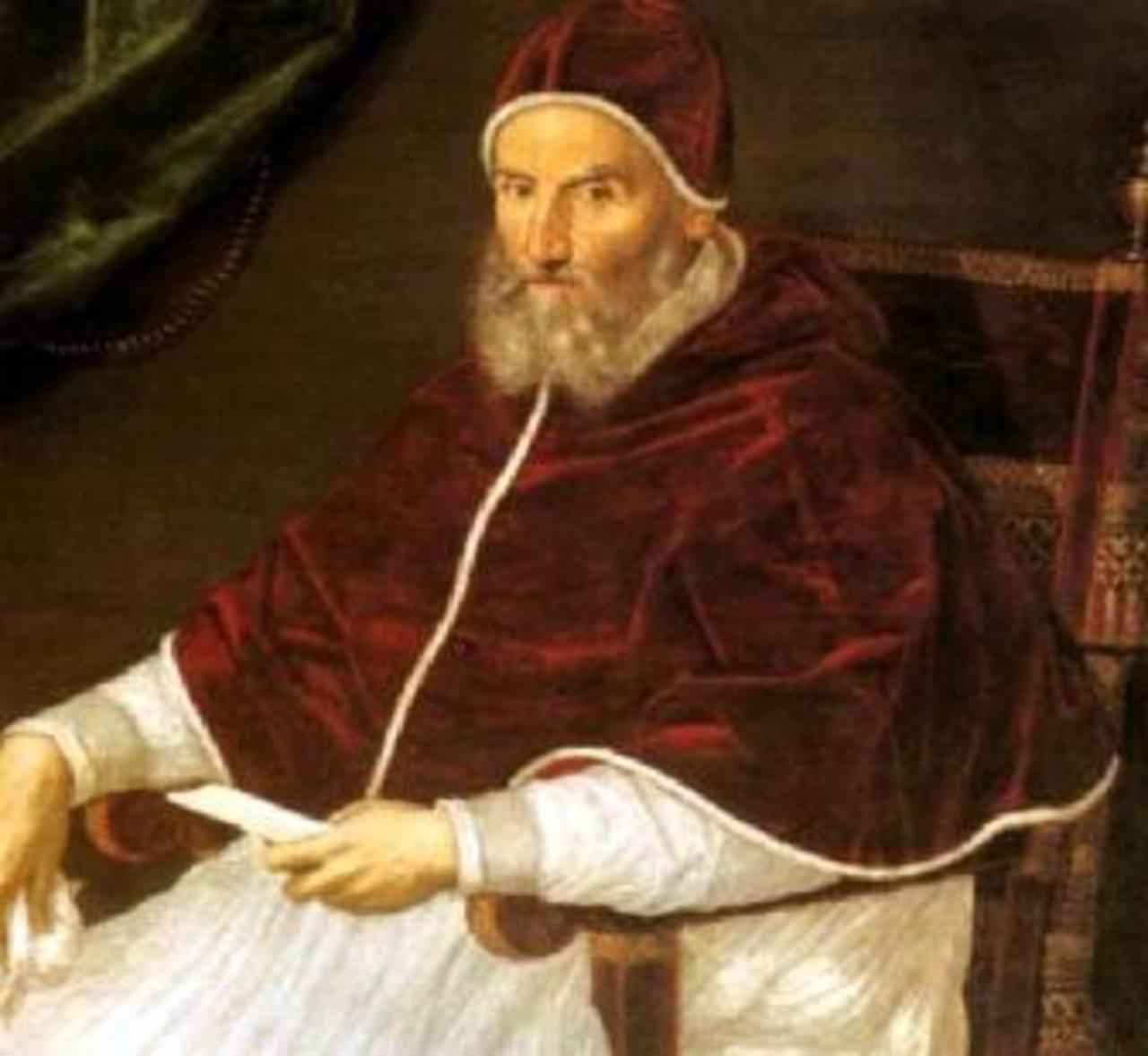 El Papa Gregorio XII. Foto tomada de internet