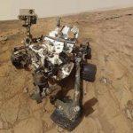 El robot de la NASA hizo una perforación para recoger una muestra del planeta Marte. Foto Reuters