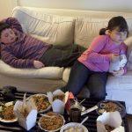 La obesidad infantil se ha vuelto más común debido a la mala alimentación. foto EDH