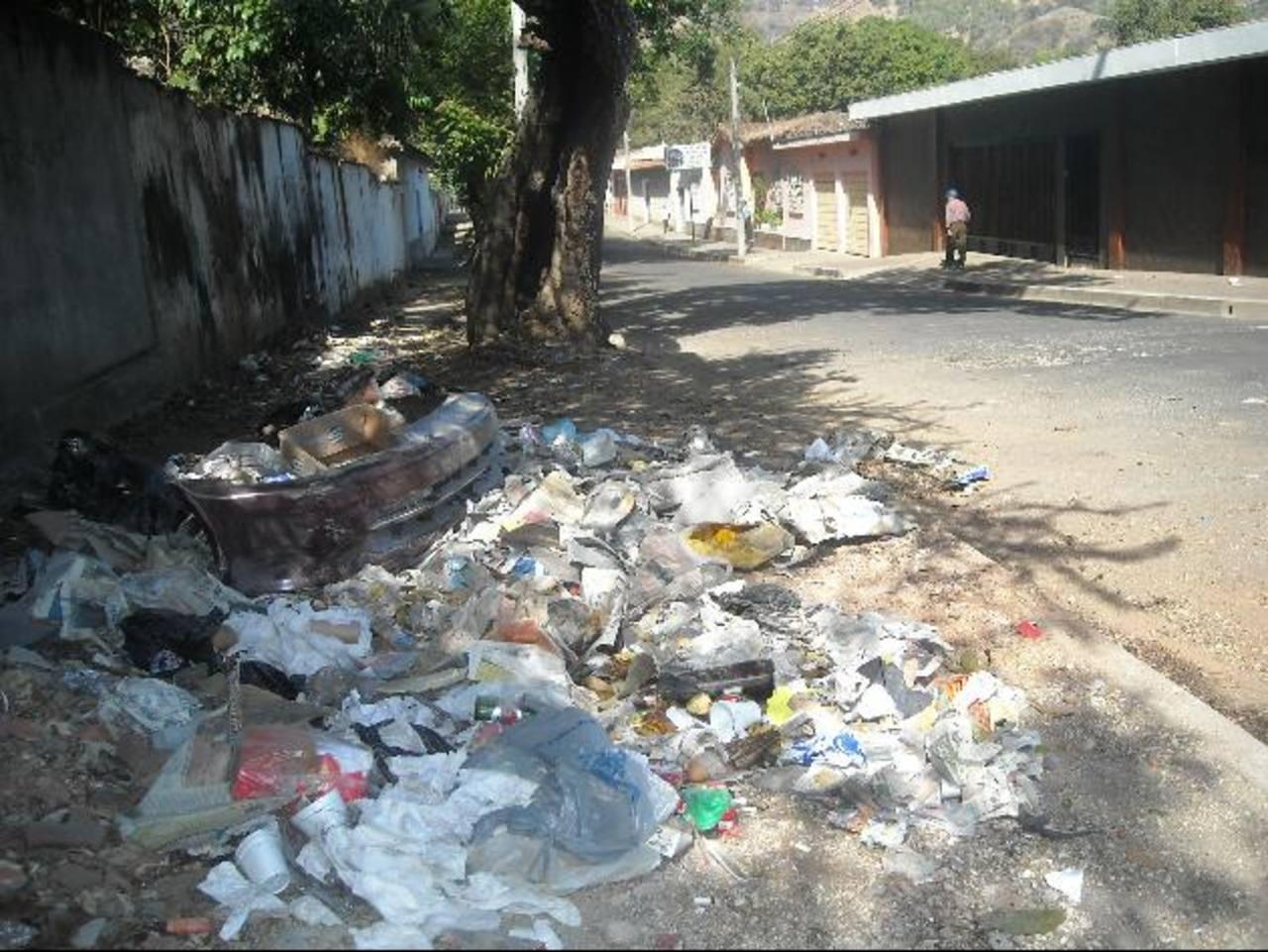La basura perjudica no sólo a los jubilados, sino a todos los vecinos. Foto EDH / Milton Jaco