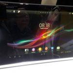 Presentan la Xperia Tablet Z, se puede sumergir 30 minutos